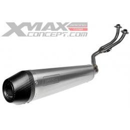POT LIGNE COMPLETE GIANNELLI TITANE HOMOLOGUE YAMAHA T-MAX 500 08/11