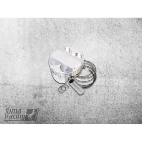 Piston forgé complet 62mm Uma-Racing pour culasse superhead