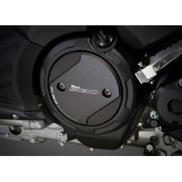 Capot moteur tmax 530 aluminium noir mat CNC la paire
