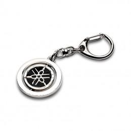 Porte-clés YAMAHA logo noir (acier)