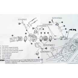 Corps papillon Uma-Racing diamètre 34