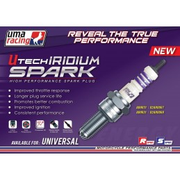 Bougie LASER iridium uma-racing / Utech