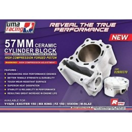 Kit cylindre 57mm uma-racing / 150cc