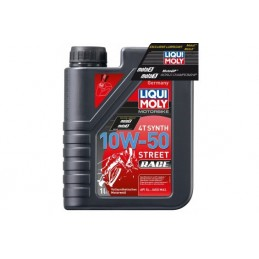 Huile 10W-50 4T Moto / Scoot Liqui-Moly Racing 100% synthèse