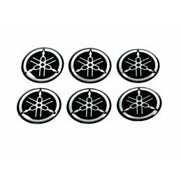 Set autocollants emblème YAMAHA (2,5cm)