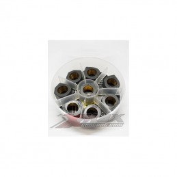"""Galets Dr PULLEY """"BLACK PEARL"""" 25X15 /T-MAX 500 /530 / 560 19gr"""