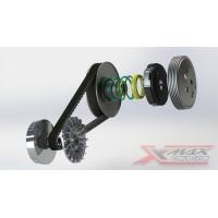 variateur et transmission xmax